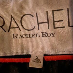Rachel Roy black wool coat sz s